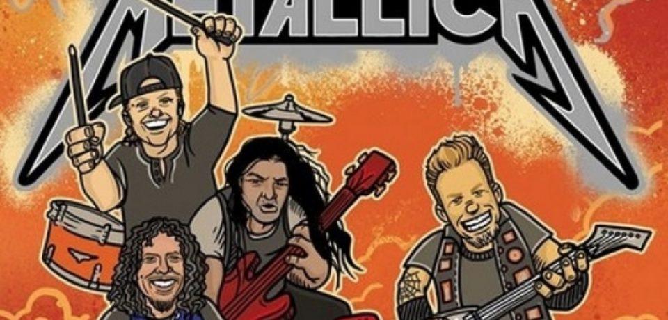 Trupa Metallica va lansa în noiembrie o carte pentru copii