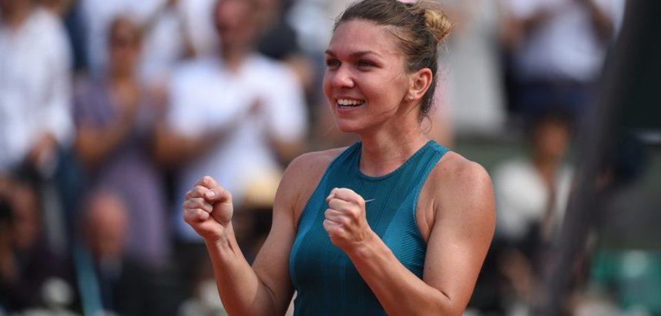 Simona Halep s-a calificat pentru prima dată în finala turneului de la Wimbledon