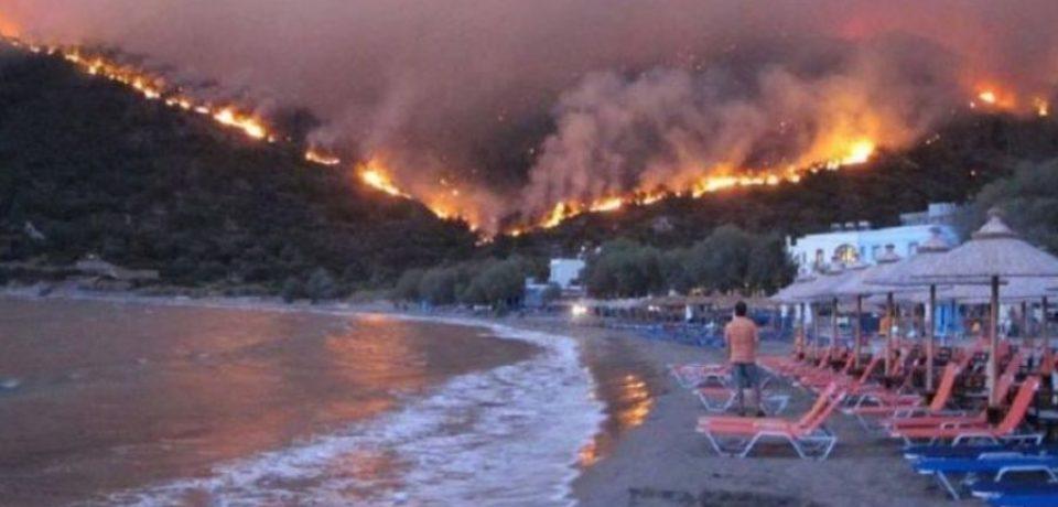 MAE: Alertă călătorie Grecia. Risc major de incendii