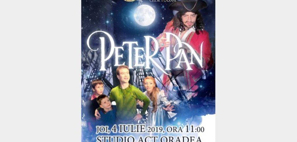 Spectacolul Peter Pan, produs de Ateneul Naţional Iaşi, ajunge la Oradea