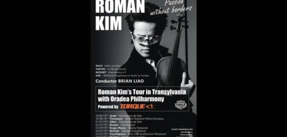 Unul dintre cei mai talentaţi violonişti ai lumii vine la Oradea