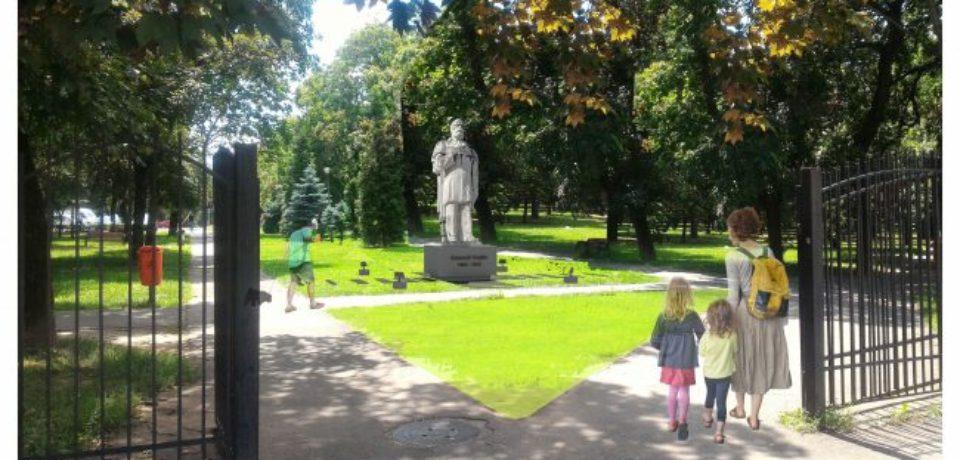 Statuia lui Emanuil Gojdu va fi reamplasată în Parcul 1 Decembrie
