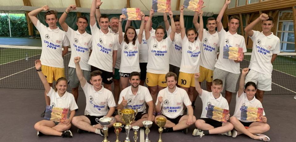 Tengo Salonta a dominat Cupa României la fotbal-tenis