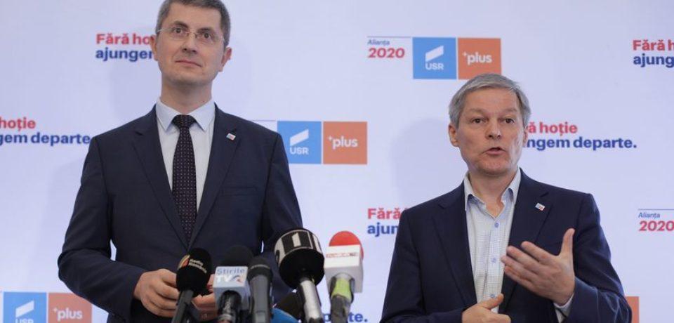 Alianţa 2020 USR-PLUS a anunţat oficial candidatura lui Dan Barna la alegerile prezidenţiale