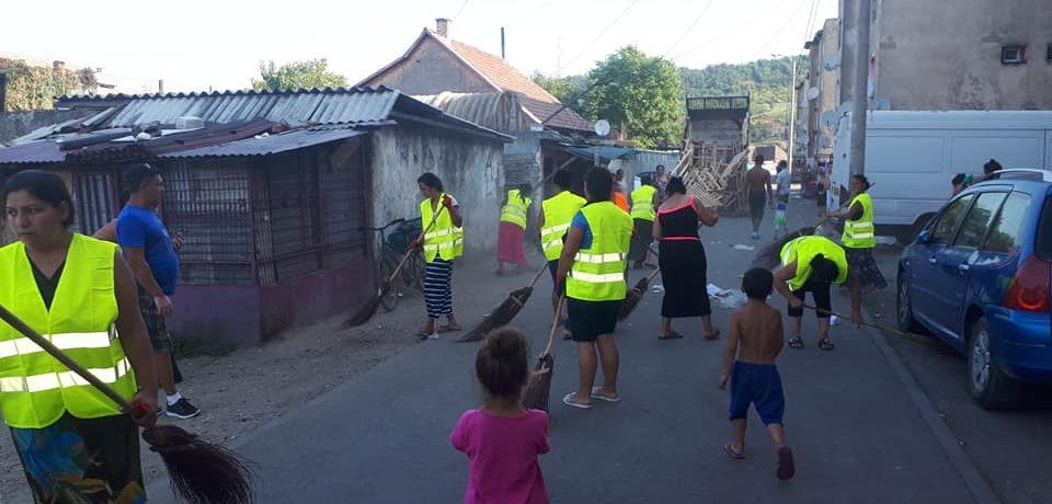 DASO i-a scos la curatenie pe beneficiarii de ajutor social din Oradea