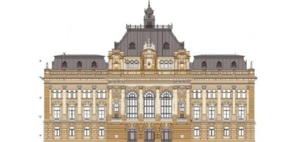 S-a semnat contractul de lucrări pentru reabilitarea clădirii Primăriei Oradea