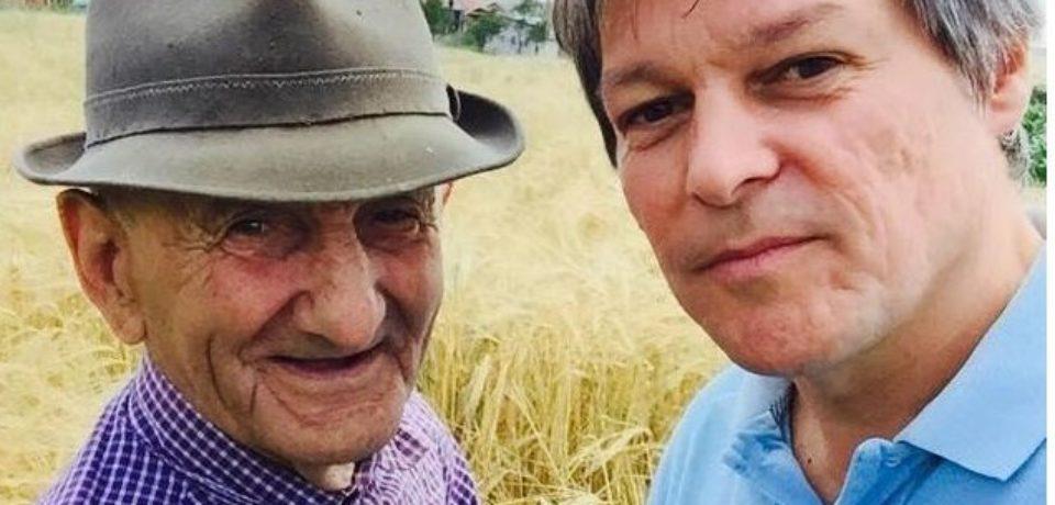 Bunicul lui Dacian Cioloș a fost înmormântat cu onoruri militare