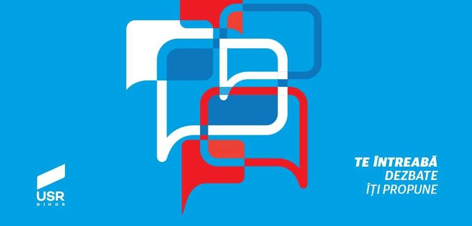 Silviu Dehelean: USR Bihor te intreaba, dezbate, iti propune. Video
