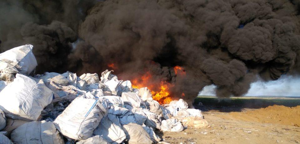 Amendă de 100 de mii de lei pentru firma care deţine depozitul de deşeuri din Nojorid