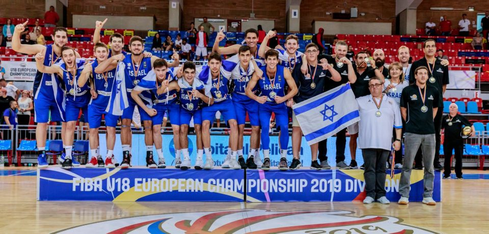 Israel a câștigat Campionatul European U18 masculin Divizia B – ediția 2019 de la Oradea