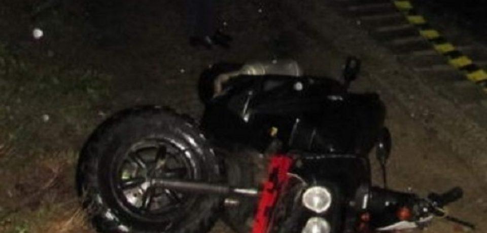 Un bihorean sub influenţa alcoolului şi fără permis a ajuns cu mopedul în șanț, între Buntești și Lelești