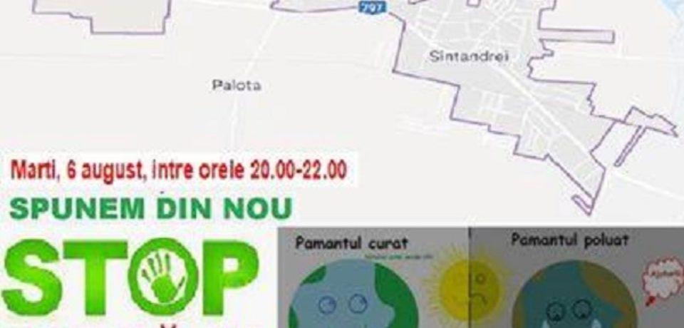Protest la Sântandrei : Spunem din nou Stop poluării!