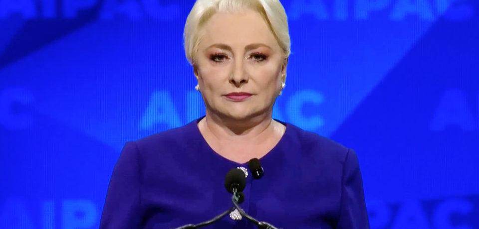Congres PSD: Viorica Dăncilă desemnată candidat pentru alegerile prezidenţiale