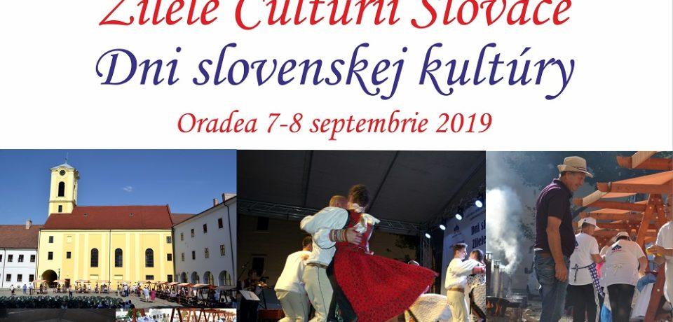 A IV-a ediție a  Zilelor Culturii Slovace în Cetatea din Oradea