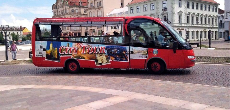 Autobuzul turistic va circula numai în zilele de sâmbătă şi duminică