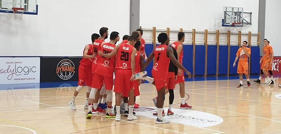 CSM CSU Oradea a remizat cu FMP Zeleznik în al doilea amical din Serbia