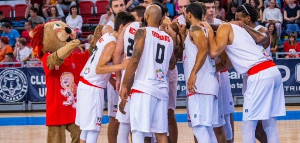 Pentru CSM Oradea, calificarea în turul doi preliminar al Basketball Champions League se joacă acasă
