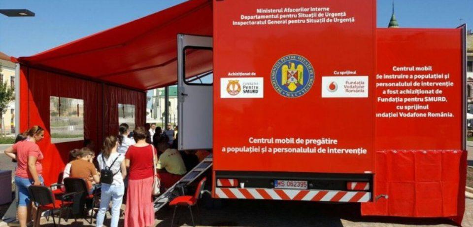 """Caravana """"Fii pregătit!"""" ajunge la Salonta și Aleșd, pentru cursuri de instruire a populației"""