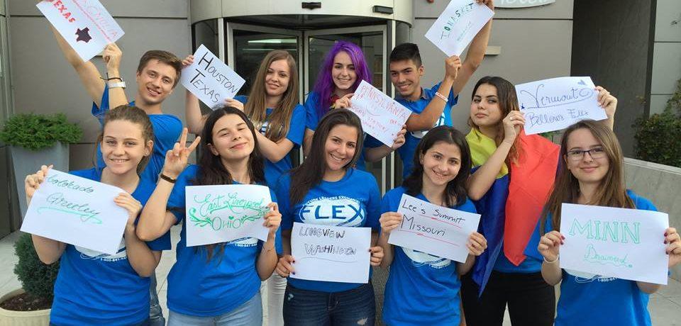 S-a dat startul înscrierilor pentru Programul de schimb de experienţă FLEX, dedicat liceenilor