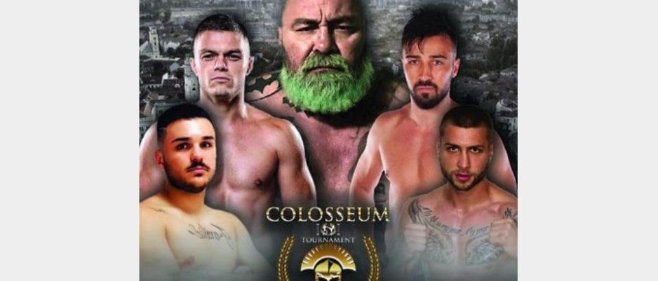 """Alexandru Lungu şi Adrian Maxim, la """"Colosseum Tournament XV"""""""