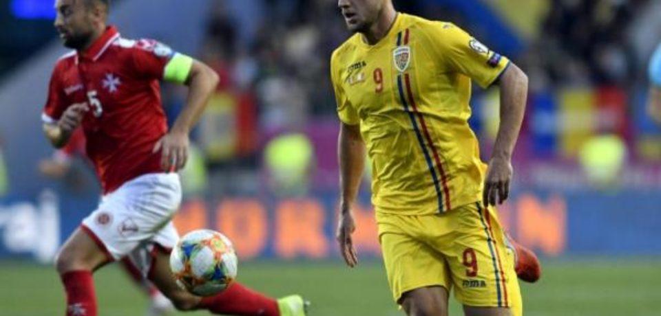 Bihoreanul George Pușcaș aduce trei puncte importante României după un meci dezamăgitor