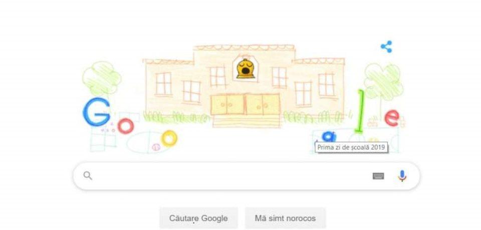 Cum celebrează Google prima zi de școală