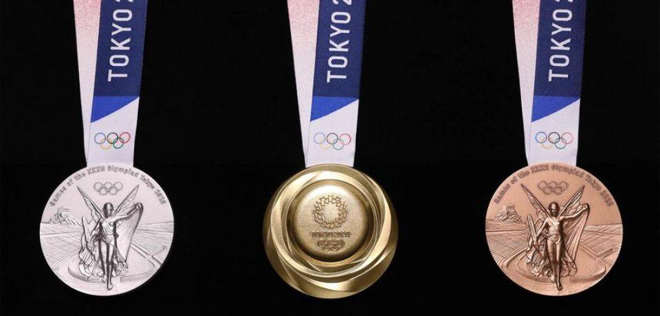 Japonia a prezentat medaliile pentru Olimpiadă, construite din metale reciclate