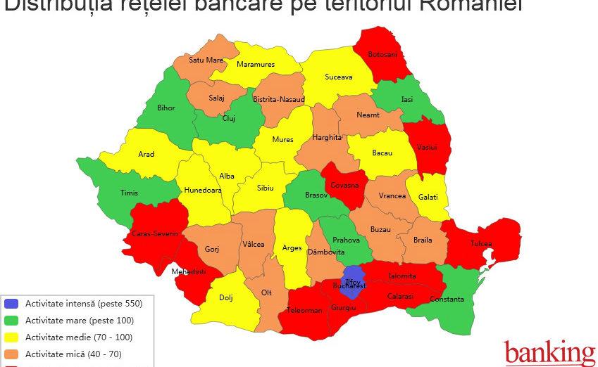 Cate Unități Bancare Sunt Deschise In Bihor Harta Bankingului Din